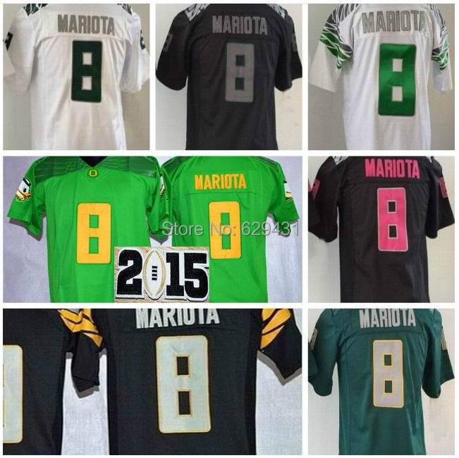 Oregon Ducks Youth Jersey #8 Kits Marcus Mariota Jersey 2014 -2015 Playoffs Oregon Ducks College Football Jerseys Free Shipping(China (Mainland))