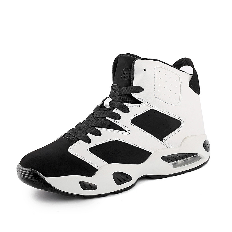 Size 36-44 Men Women Basketball Shoes High Top Quaity Men Sports Sneakers Shoes Black White Men Sports Ankle Boots Shoes NX943(China (Mainland))