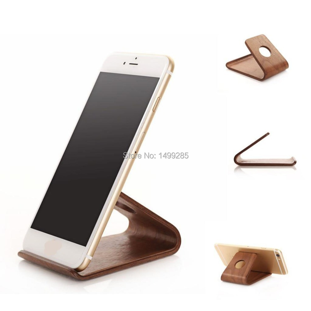 Wooden Phone Stand ~ Aliexpress buy wooden phone stand mobile holder for