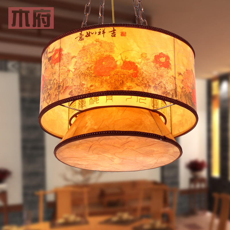 Modern Chinese antique chandelier light fixtures fashion creative living room dining restaurant lanterns lighting the lamp study(China (Mainland))