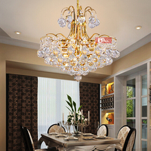 hot sales modern pendant chandeliers silver/gold crystal chandelier LED suspension luminare home lighting (China (Mainland))