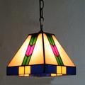 10 corridor Simple Art Pendant Lights Continental retro pattern Handmade Multicolored Glass Tiffany LAMP Corridor ceiling