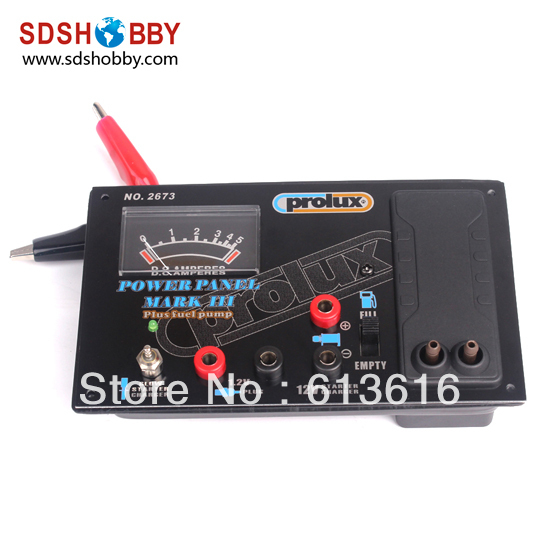 Prolux PX2673 12V Power Panel with Glow Starter Charger and Electric Fuel Pump<br><br>Aliexpress