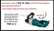 Rozadora con guía láser para brisk corte instalar tubo y alambre 6 hojas de sierra libremente y entrega rápida GS certificado