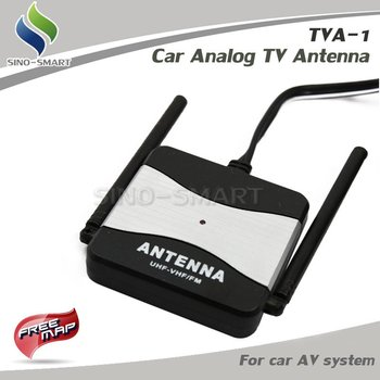 Free Shipping Supernova Sales Hot selling Car Analog TV Antenna with Amplifier Booster HOT SELLING
