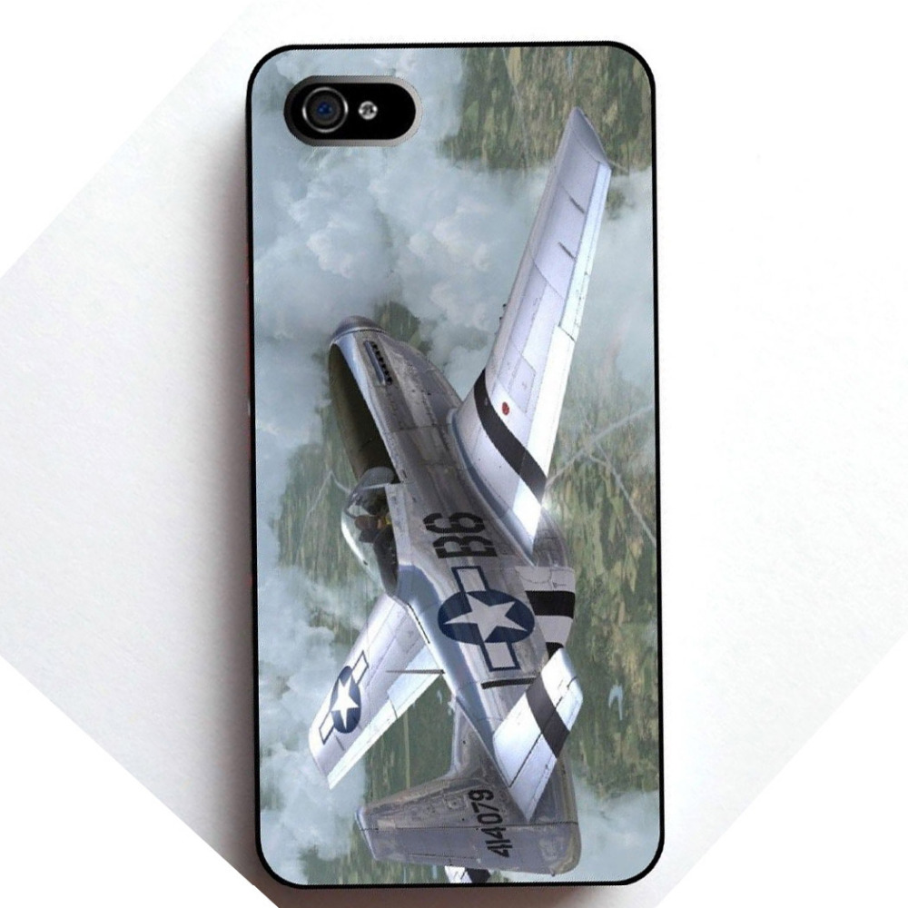 World War Two Fighter Plane Plastic Hard Back Cell Phones Cover Case for iPhone Phone 4 and 4s(China (Mainland))