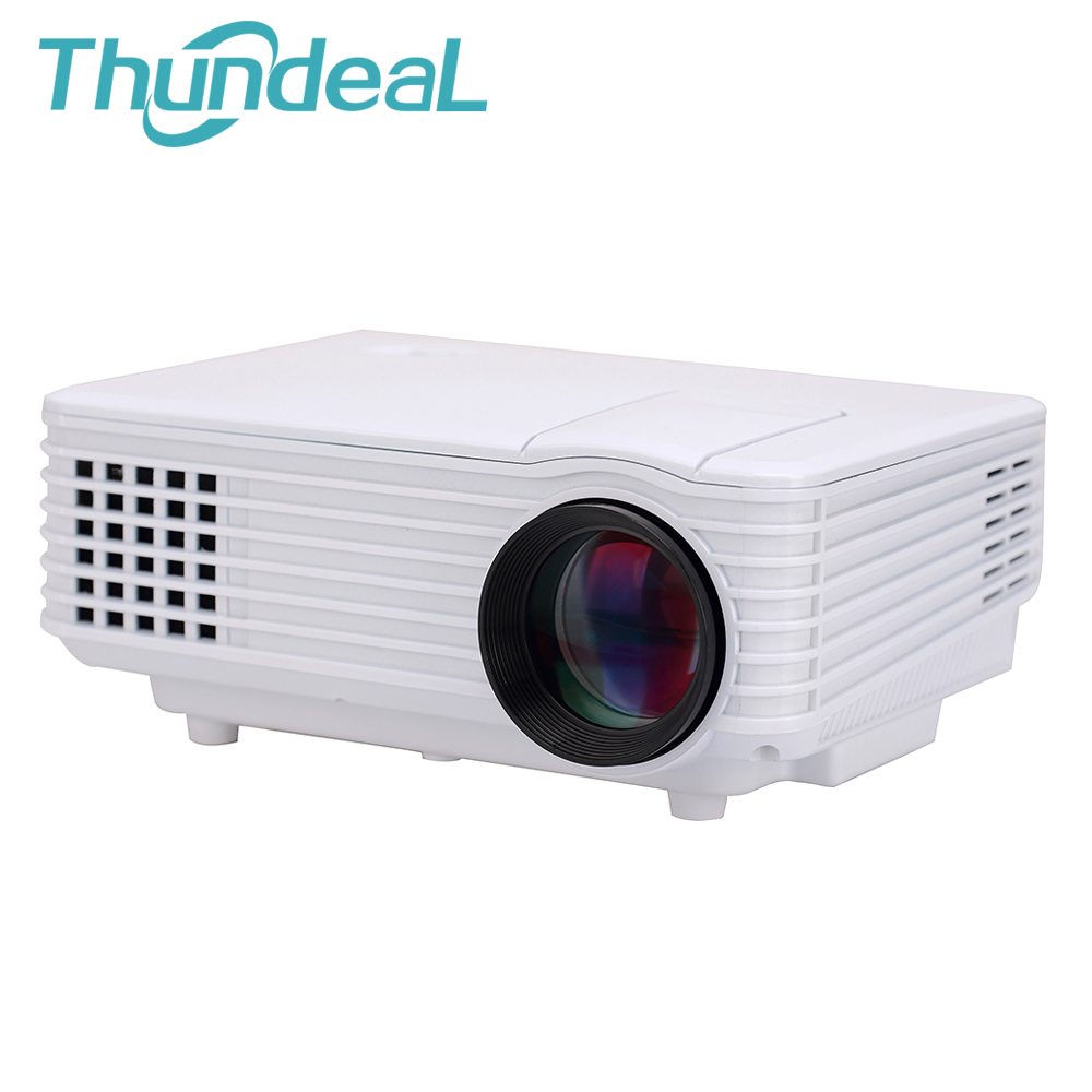 2015 Newest 800 Lumens Projector RD-802 Updated RD-805 Mini LED Portable Beamer Cinema Proyector VGA TV USB HDMI AV(China (Mainland))