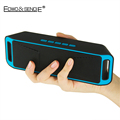 New Portable Wireless Bluetooth 4 0 Speaker SC208 Subwoofer Music Box TF USB FM Radio Dual