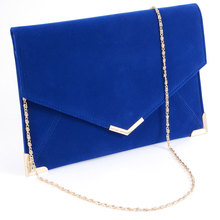 LADIES CLUTCH EVENING FAUX LEATHER WEDDING ENVELOPE PROM PARTY BAG WOMEN BAG