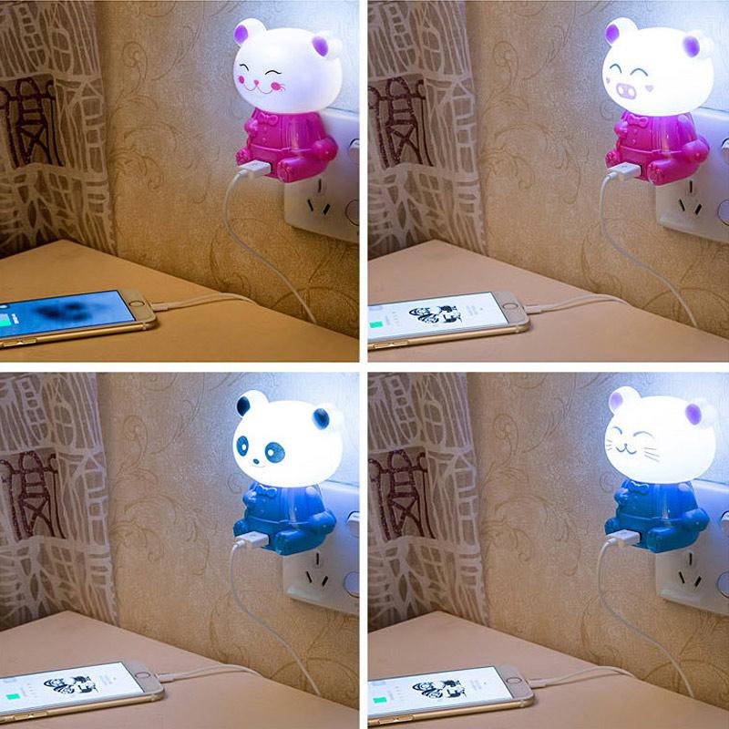 Panda lampe promotion achetez des panda lampe promotionnels sur alibaba group for Eclairage chambre bebe