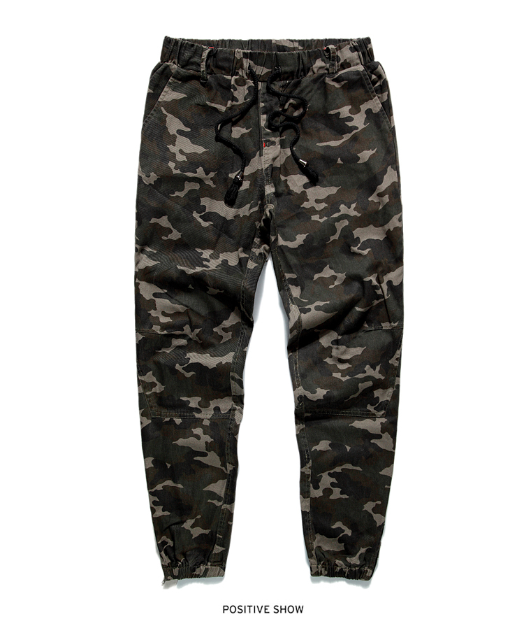 Heybig Brand Mens Joggers Pants Hip Hop Skinny Camouflage Men Pants Military Joggers Fashion Harem Pants