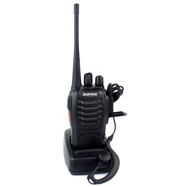 10pcs Baofeng Walkie Talkie UHF BF-888S Interphone 5W 16CH  Transceiver Radio Comunicador A0784A