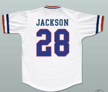 Bo Jackson 28 Memphis Chicks Baseball Jersey Red White Stitched Throwback Baseball Jerseys Free Shipping(China)