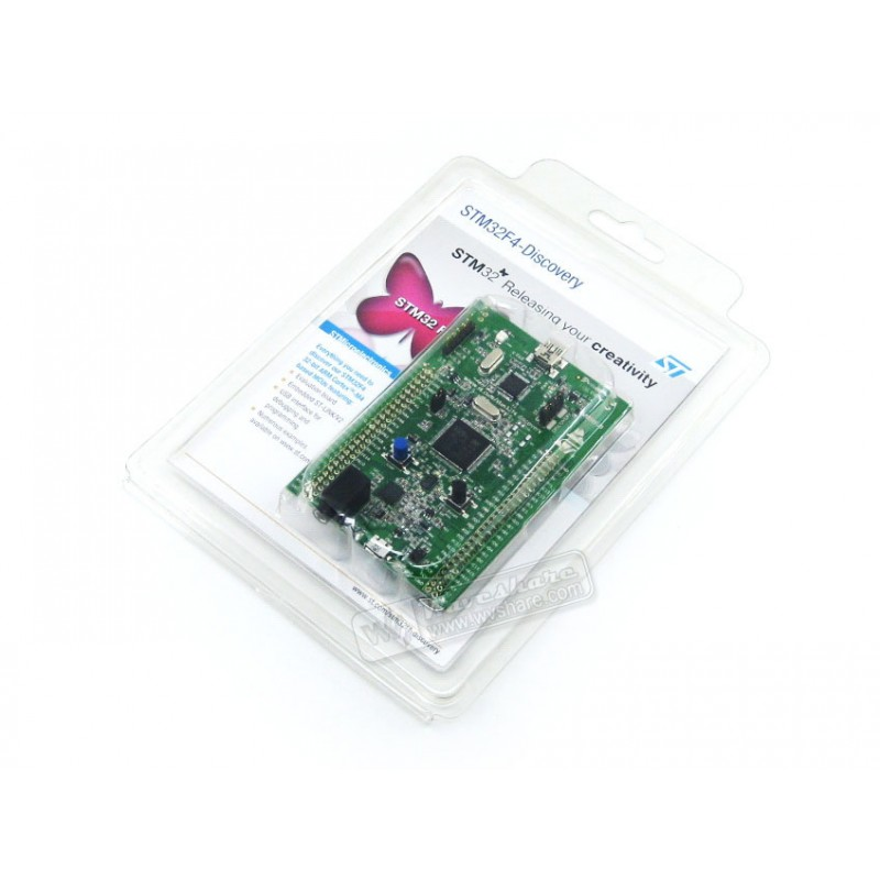 STM32F4DISCOVERY STM32F4 Discovery Kit 32-bit ARM Cortex-M4F core 1 MB Flash 192 KB RAM for STM32 F4 series - with STM32F407 MCU(China (Mainland))