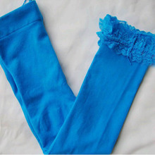 Newest Toddler Kids Girls Lace Velvet Legging Pantyhose Stocking Pant 5 9Y