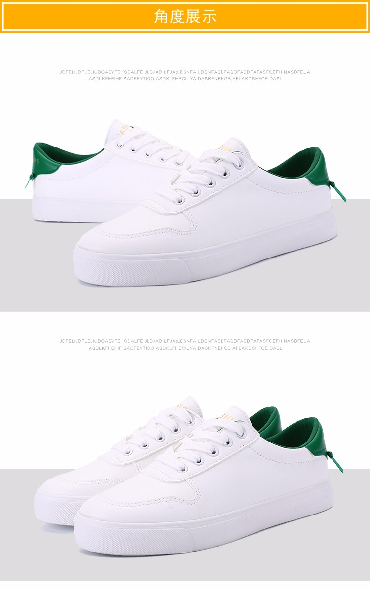 JARLIF Help Low Classic Lace Shoes 2016 Spring Flat White Shoes Korean Student Shoe Star Style Women Solid Flats Shoes