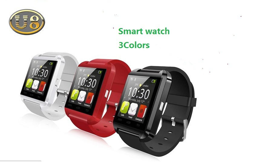 Fashion Bluetooth Smartwatch U8 U Watch for Samsung HTC S4/Note 2/3 Huawei LG Xiaomi Android Phone Smartphones 2015 WristWatch(China (Mainland))