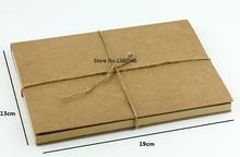 Kraft Notebook Sketchbook 13cm X 19cm Blank Kraft Cahiers Notebook Stationery Drawing Book