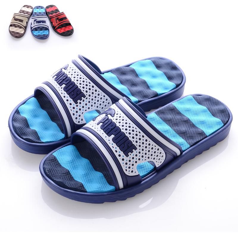 2013 bathroom slippers male summer home massage sandals slip-resistant lovers slipper - Online Store 917710 store