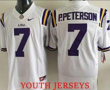 Leonard Fournette Odell Beckham Jr Tryann Mathieu Patrick Peterson for mens FOR YOUTH KIDS(China (Mainland))