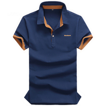 Solid Polo Shirt Plus Size Polo Ralph Men Shirts 2015 Summer Camisa Polo Masculina Loose Casual Breathable Polos Hombre M-5XL