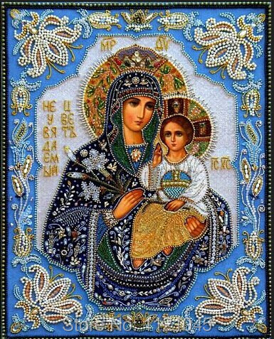 Wholesale DIY Diamond Paintings virgin hug Jesus Home Decoration Rhinestone Wall Stickers Embroidery Needlework AD090(China (Mainland))