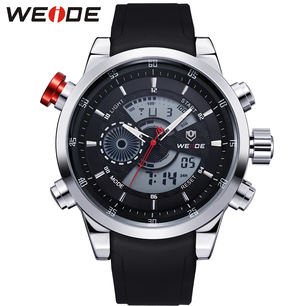 WEIDE Luxury Brand Mens Sports Watches Surfing 30m Digital LED Military Watch Men Fashion Casual Wristwatches Hot Clock WH3401(China (Mainland))