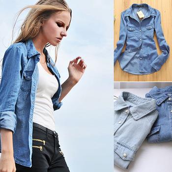 Женские блузки и Рубашки s m l XL DorpShipping женские блузки и рубашки 2014