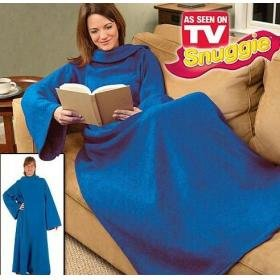 Free shipping! brand new Snuggie Fleece Blanket As Seen On TV (20 pcs/lot)(China (Mainland))