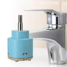 1pc Faucets Fittings Valve 35mm Ceramic Tap Control For Hot/Cold Water Mixing(China (Mainland))