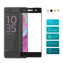 Buy Sony Xperia XC/XA/XZ/XA1 Ultra Tempered Glass Screen Protector Full Cover 2.5D Ultra Thin 9H Hardness Protective Film Guard for $1.05 in AliExpress store