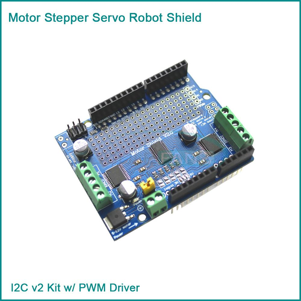 Buy motor stepper servo robot shield for for Arduino servo motor shield