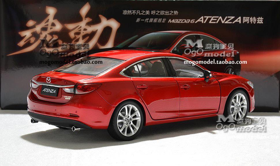 - Original factory faw MAZDA, new MAZDA 6 ma ATENZA multicolor 1:18 model car yinbang yang's store