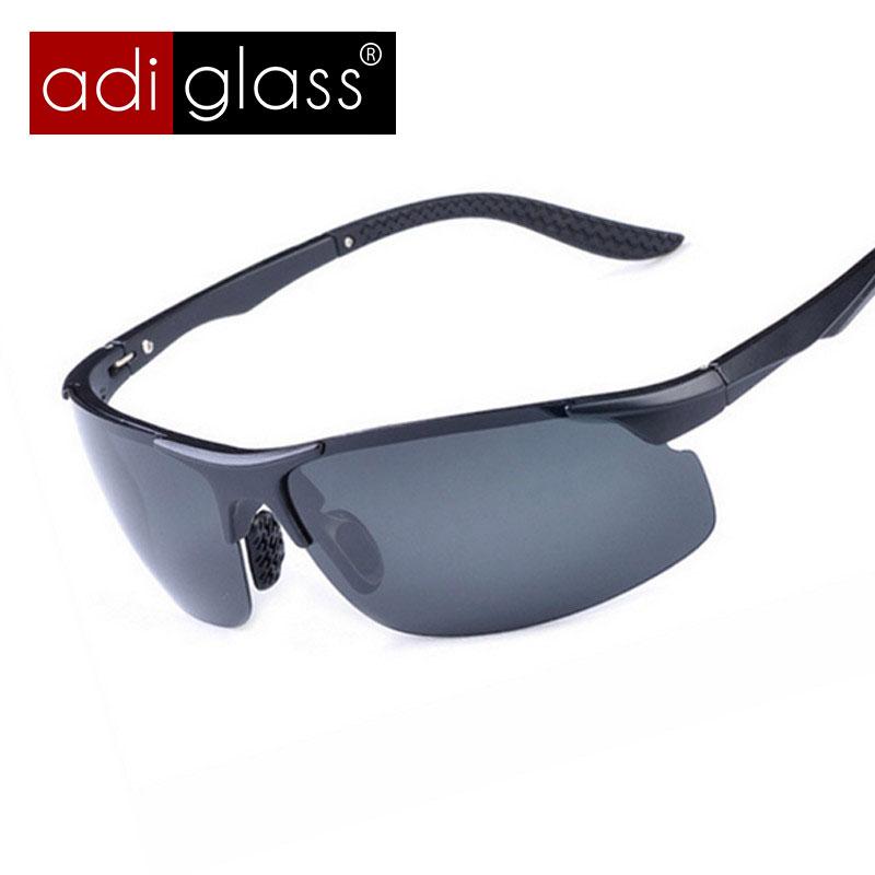 Adiglass Brand New Sunglasses Men Outdoor Sport Driving Eyewear Oculos de sol Masculino Summer Style Fashion Polarized Glasses(China (Mainland))