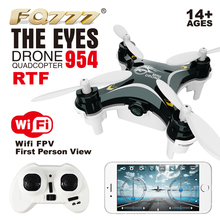 2016 FQ777 954 RTF Drone Dron Quadrocopter The Eyes RC Quadcopter Nano WIFI Drone with Camera