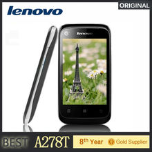 Cheap Lenovo Mobile Phone A278t 3.5″inch Screen 2.0MP Camera Dual Sim Support Russian Spanish