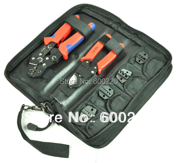 Crimping Tool Set kit DN K02C with cable cutter crimping plier replaceable crimping die sets jaws