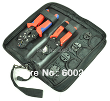 Crimping Tool Set crimping tool kit(DN-K02C) with cable cutter & replaceable die sets
