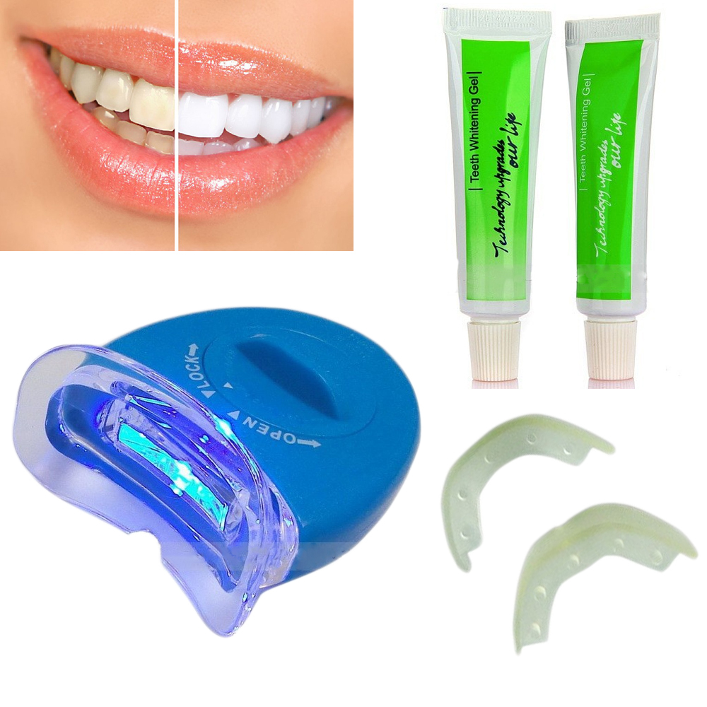 Original White Light Tooth Whitening Teeth Gel Whitener Dental Brightening Bleaching Lamp