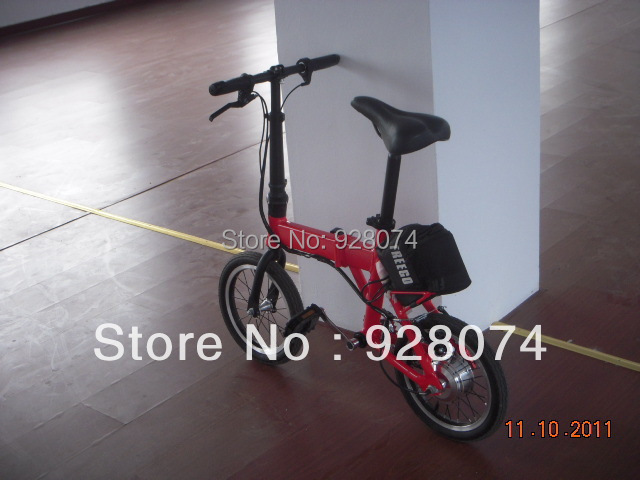 TDR14Z Folding electric bicycle folding electric bike 250w motor aluminum frame portable smart lithium battery e