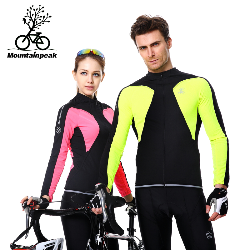 Jersey Sets Polyester Cycling Sets Men Long Sleeve Spring/Autumn 100% Polyester 80% Polyester and 20% Lycra Cycling Sets(China (Mainland))