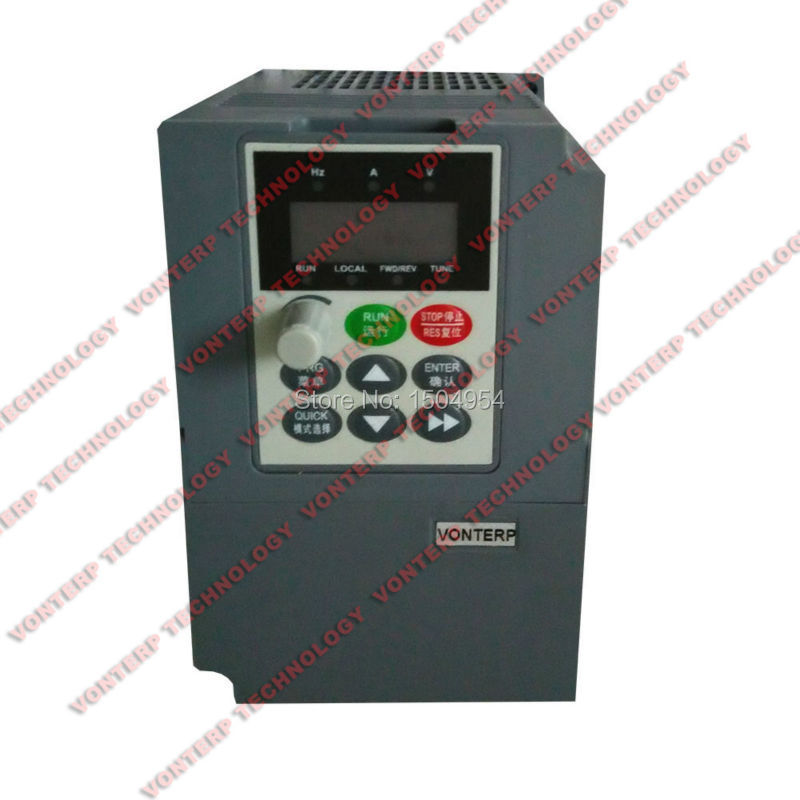 Variable speed drive/ frequency converter 50hz 60hz 220V single phase to 220V three phase 220v 0.75kw(China (Mainland))