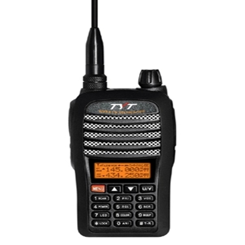 TH-UVF1 Two Way Radio TYT Dual band dual display dual standby walkie talkie UHF VHF FM transceiver with VOX function(China (Mainland))