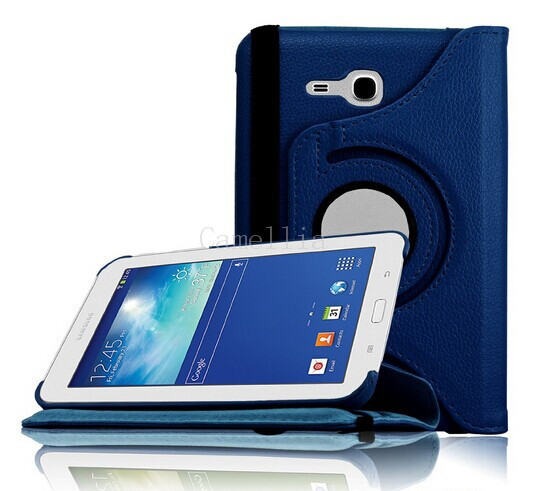 200pcs/lot 360 Degree Rotating PU Leather Case Cover for Samsung Galaxy Tab 3 Lite 7.0 SMT110 and SM-T111 3G 7-inch Компьютер & сеть