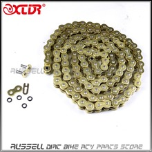 Gold 520 x 120 O-Ring Drive Chain ATV Motorcycle MX 520 Pitch 120 Links(China (Mainland))