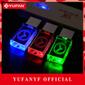 YUFANYF 2017 pendrive 3 colors Red blue green LED Mazda car LOGO USB falsh drive 4GB