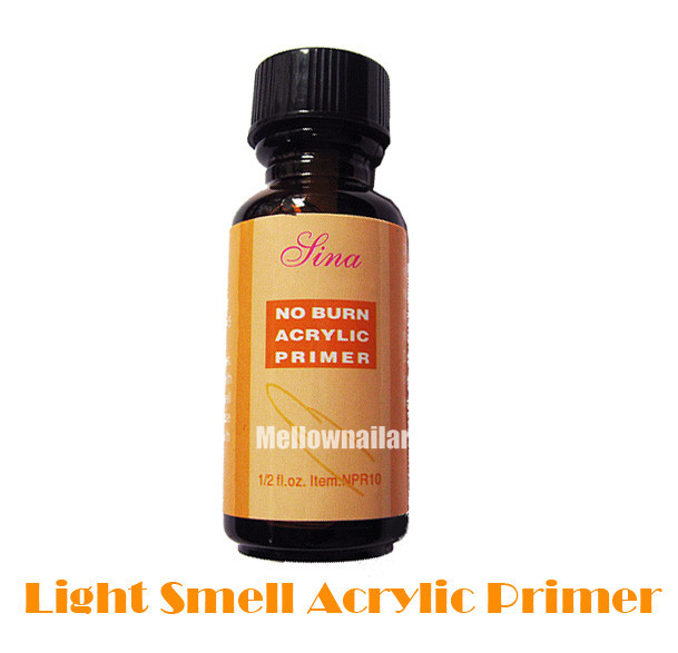 Light Smell Acrylic Primer Powder Nail Art Tips Base Bond No Burn 0.5 Oz(China (Mainland))