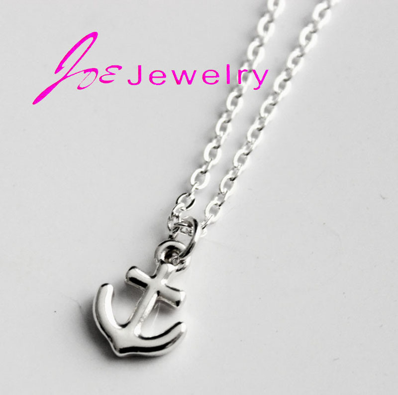 product The new fashion pendant necklace the anchor necklaces Marine accessories seafarers small adorn article wholesale