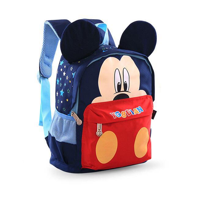 HOT sale !! Nylon bag boys/ girls kids cartoon Backpacks kids gifts kindergarten school bag kids mini school bag<br><br>Aliexpress