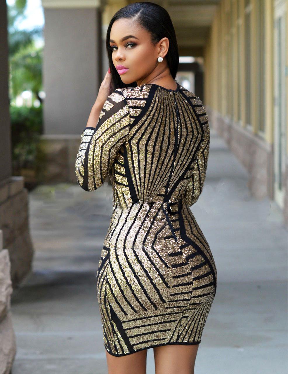 Plus Size Long Silver Sequin Dress Dress Images